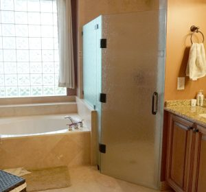 Rainglass Frameless Shower