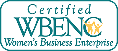 Proud To Be a Certified Womens Business Enterprise